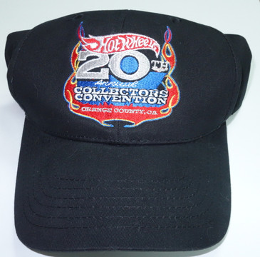 Hot Wheels 20th Annual Collectors Convention Baseball Cap