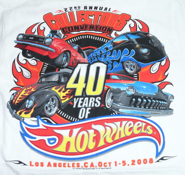 22nd Hot Wheels Collectors Convention T-Shirts - BRAND NEW