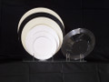 Concord Collection 7 1/2 Inch Plates Available in 4 Colors.  Packed 150 Plates to a Case