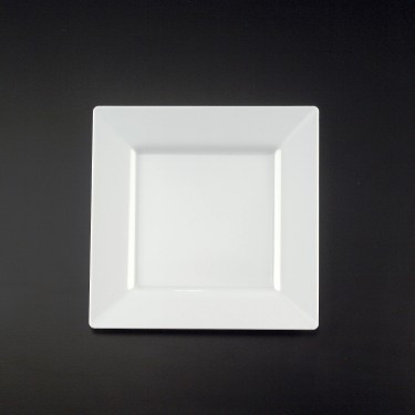 Simply Squared 10 34 Inch Dinner Plates Available In 4 Colors