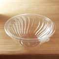 Yoshi PrepServe 160 Ounce Presentation Bowls, Available in Black or Clear. Packed 25 to a Case.