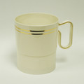 Maryland Regal Ivory And Gold 8 Ounce Coffee Mugs. Packed 120 to a Case