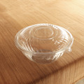 Yoshi PrepServe Clear Covers for 320 Ounce Bowls . Packed 25 to a Case.