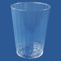 Luminere Crystal 10 Ounce Plastic Glasses. Packed 120 to a Case.