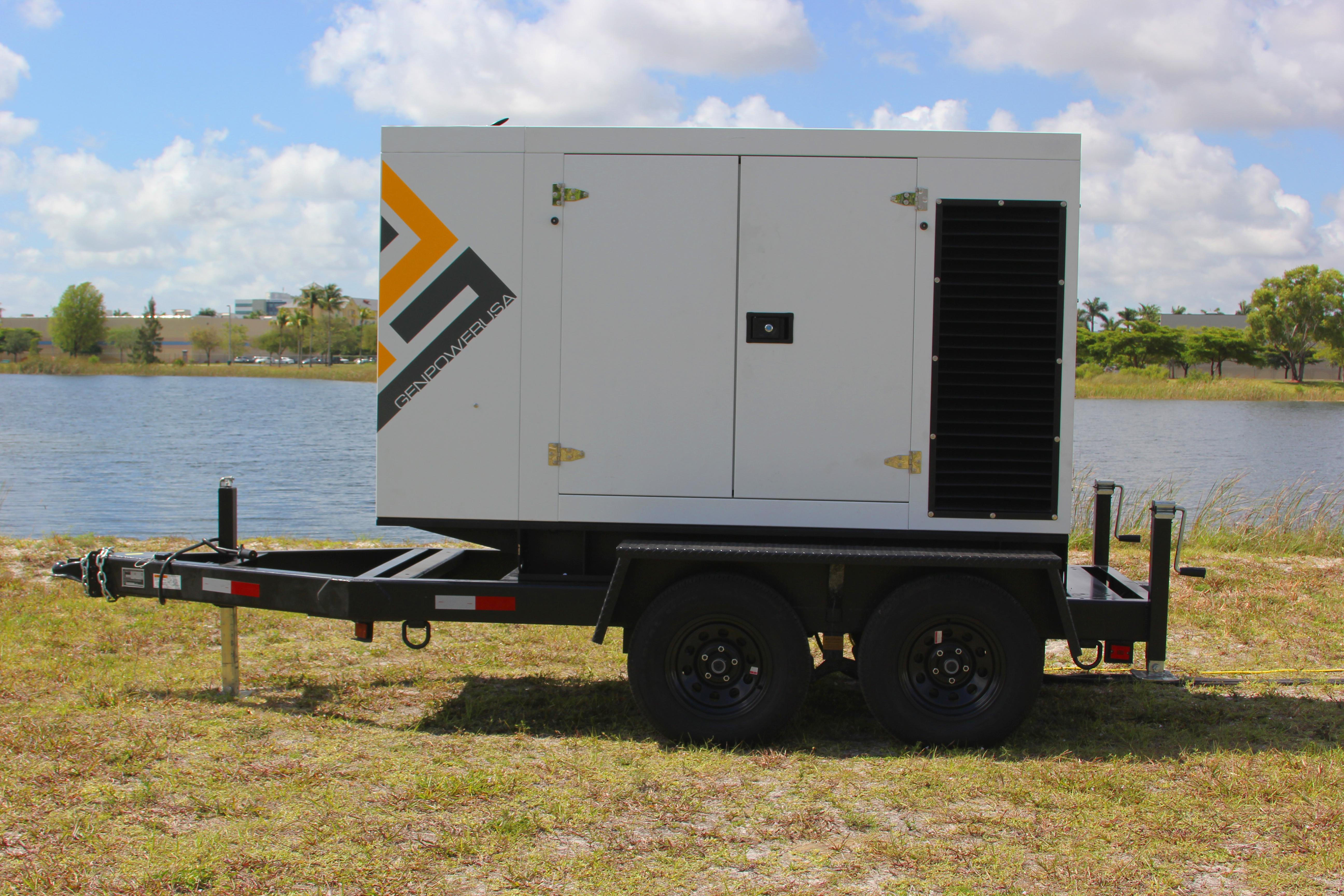 A GENPOWERUSA generator, made in the U.S.A.