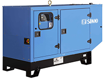 40 KW SDMO Diesel Generator 50 KVA, Three phase, Enclosed type, EXPORT only, J40U IV