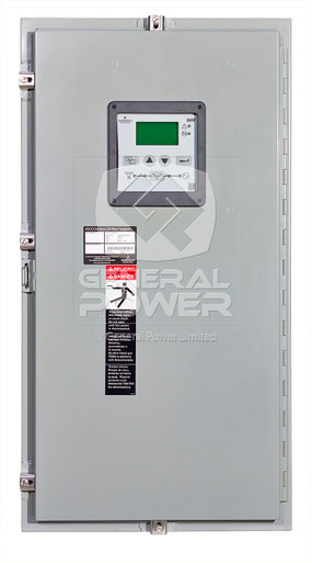PHOTO ASCO 200 Amps 3 Poles NEMA3R 208V Automatic Transfer Switch ATS, Series 300, 3ATSA30200CG0F