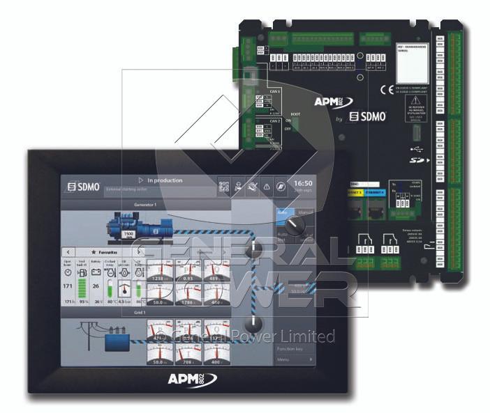 Sdmo Apm802 Control