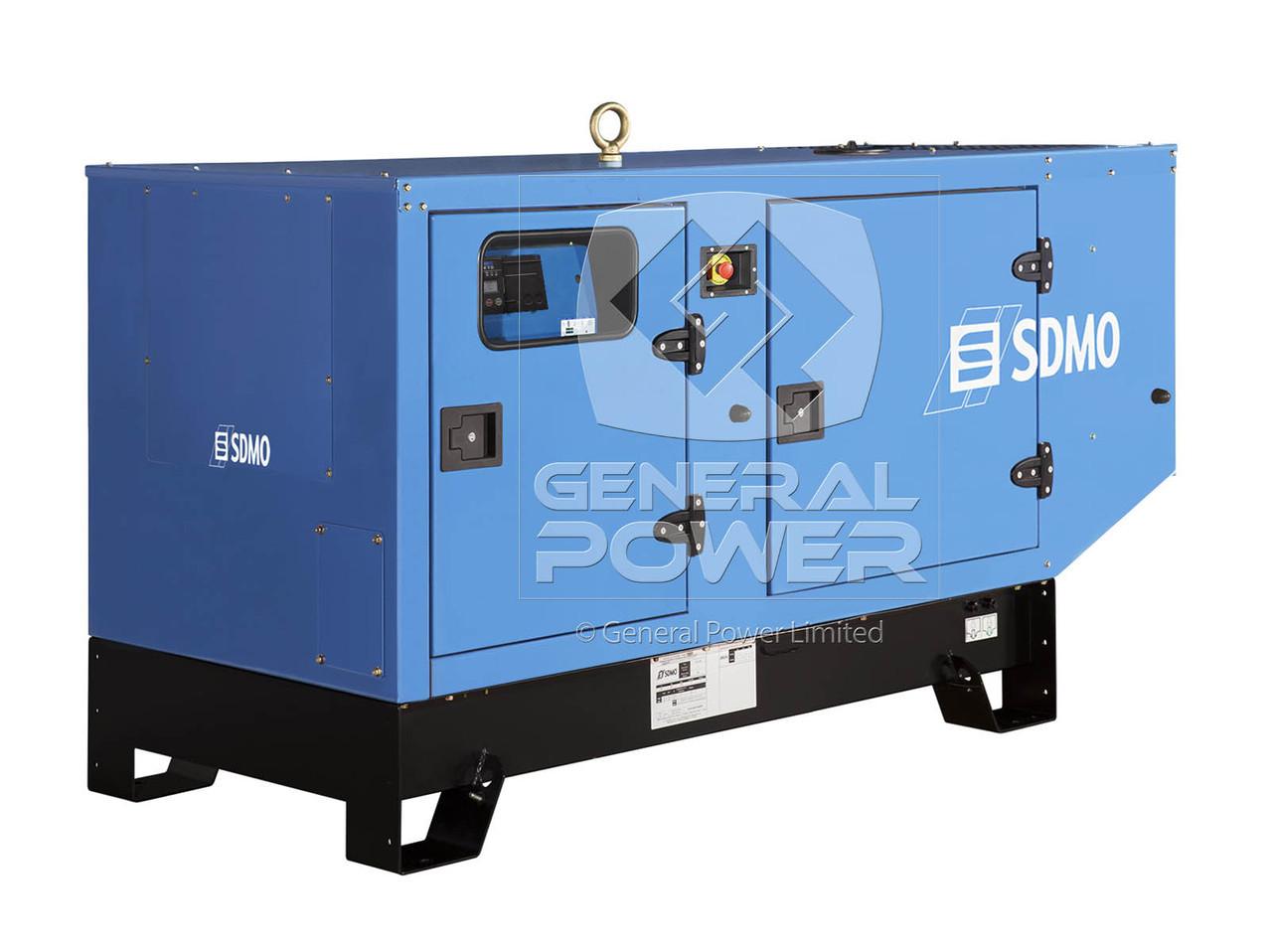 12kW 12 kVA Diesel Generator - SDMO | T12KM IV | General Power