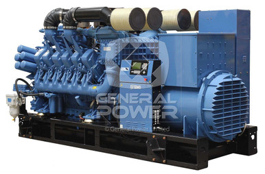 PHOTO MTU GENERATOR 1600 KW X2000 II exportonly