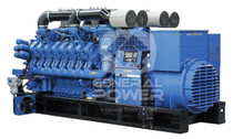 PHOTO MTU GENERATOR 2000 KW X2500 II exportonly