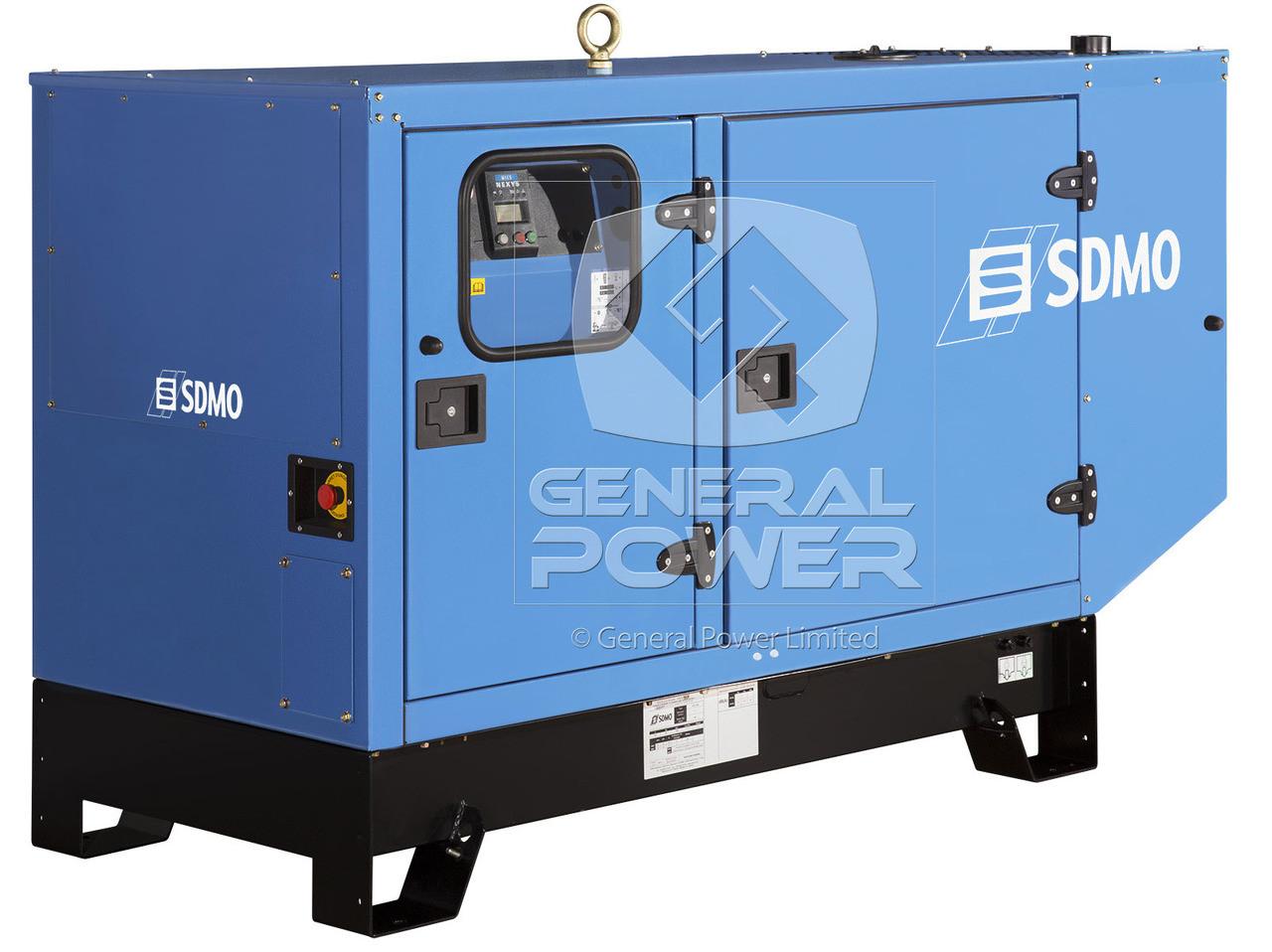 20 kW 20kVA Diesel Generator - SDMO | J20UM IV | General Power