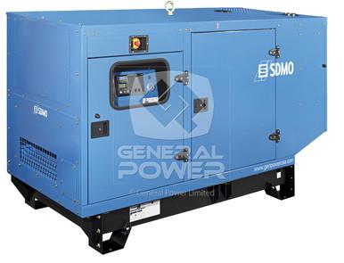 PHOTO JOHN DEERE GENERATORS 60 KW J60U IV exportonly