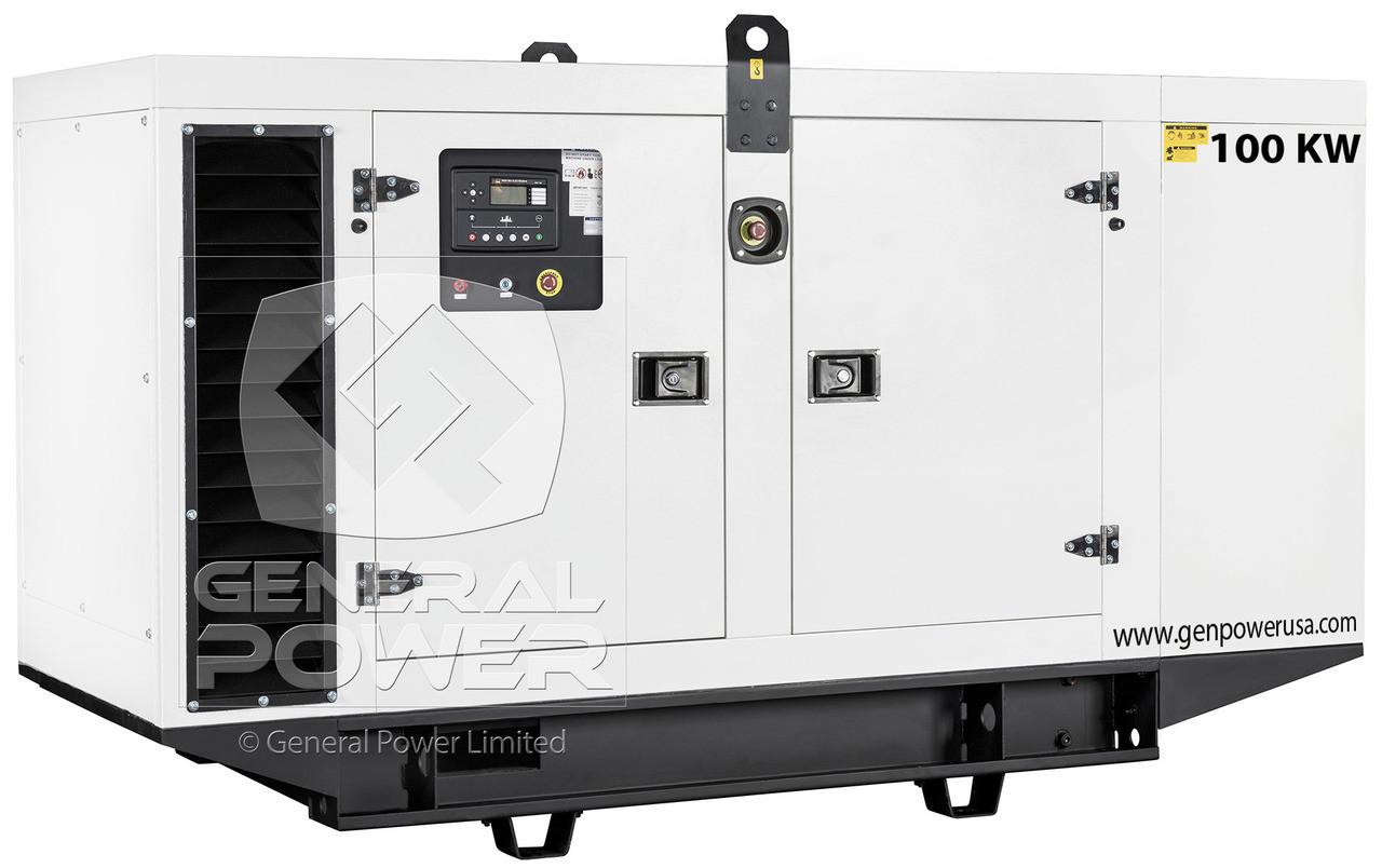 100 kW 125 kVA sel Generator - Perkins   GP-P110-60SA Markon Alternator Wiring Diagram on