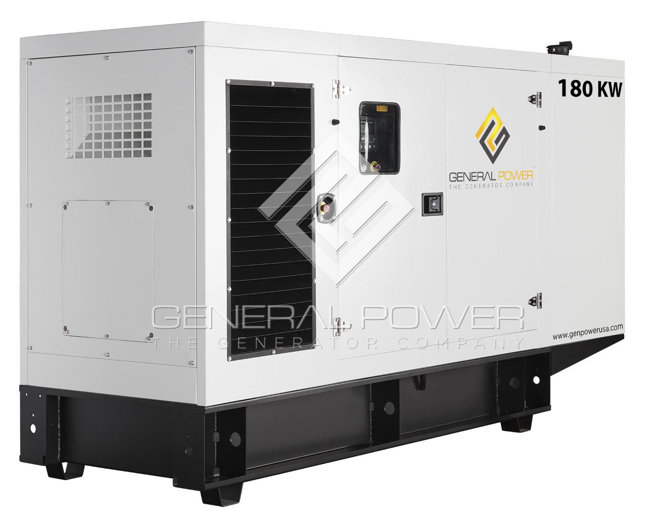 180 kW 225 kVA Diesel Generator - John Deere   GP-J180-60T4F-SA