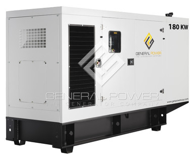 John Deere powered generator 180 kw GP-J180-60T3F-SA