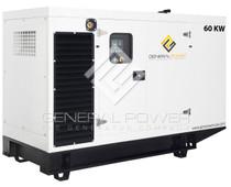 John Deere powered generator 60 kw GP-J60-50T4F-SA