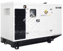 John Deere powered generator 65 kw GP-J65-60T4F-SA