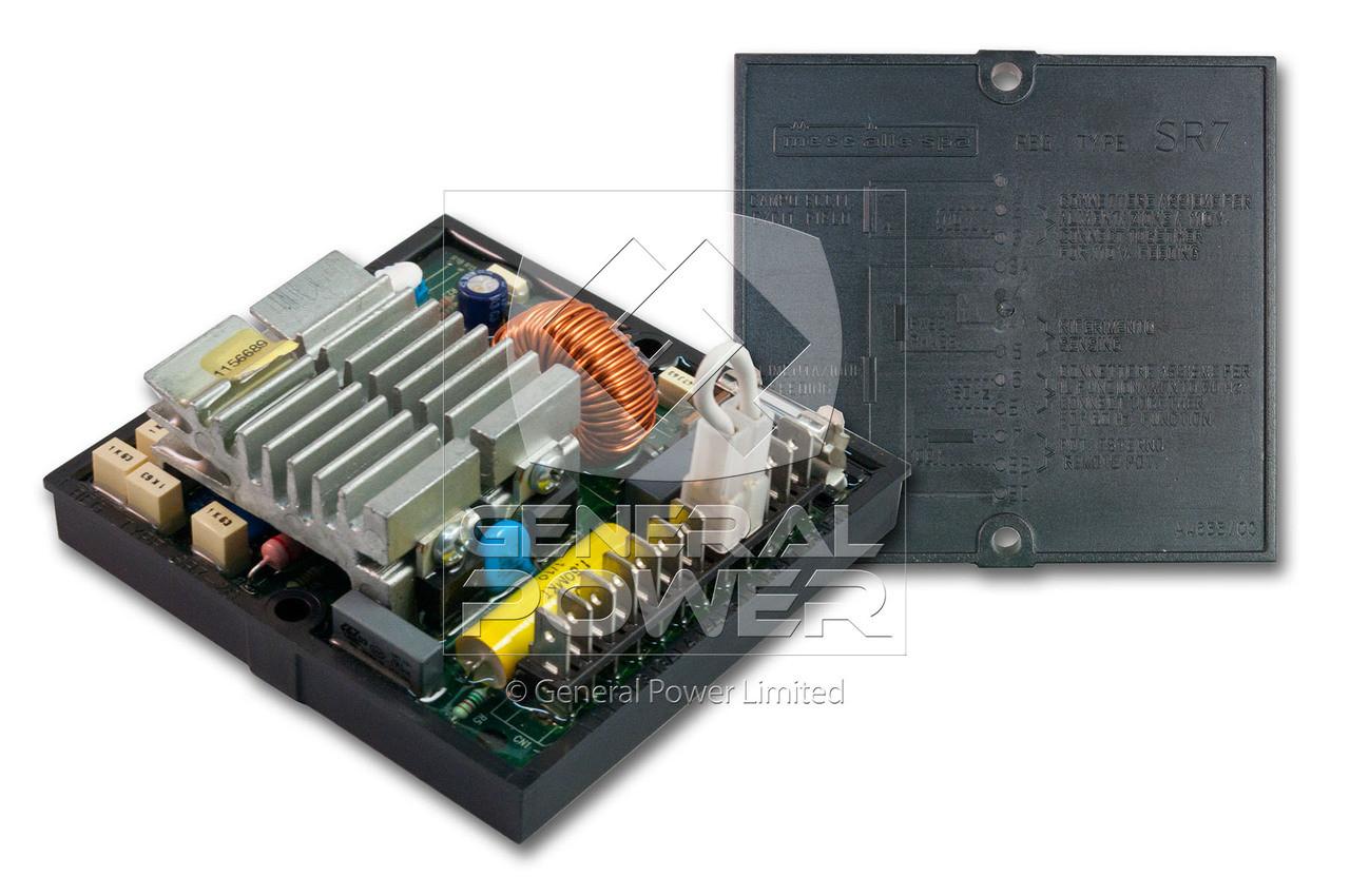 Mecc Alte Sr7 2g Avr Original Voltage Regulator Alternators Parts Diagram Alternator Loading Zoom