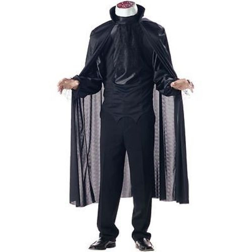 CHILD HEADLESS HORSEMAN SCARY SPOOKY VILLAIN BOYS HORROR HALLOWEEN COSTUME S-XL