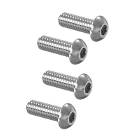 "Pneumatic Clutch 10-24 x 5/8"" BHCS Button Screw Set  (4)"