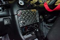 Miata Radio Delete Diamond Plate Switch Panel
