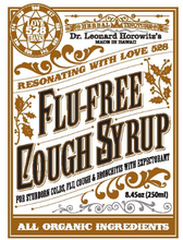 Flu-Free Herbal Organic Cough Syrup