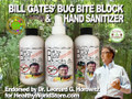 Bill's Bug Bite Block Hand Sanitizer & Natural Bug Repellant (8oz bottle)
