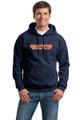 Empire Hooded Sweatshirt, Navy