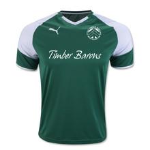 Puma Borussia Jersey, Green, Front - Timber Barons