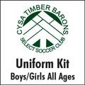 Timber Barons Uniform Kit *BUNDLE*