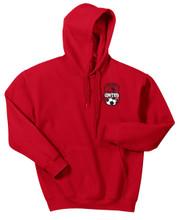 Northwest United Hoodie, Front, Red