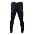 Puma Training Pants, Black, Front - Timber Barons