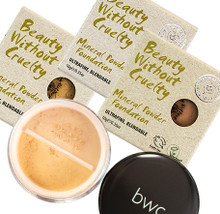 bwc Mineral Powder Foundations
