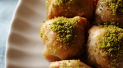Small Tray of Kestaneli Baklava w/ Chestnuts (1 Tepsi) - 35 Pcs