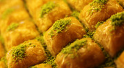 Special Square Baklava with Pistachio nuts