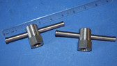 C2 1 inch Hex Swivel Clamps x 1-5/8 tall with 5/8:11 Threads