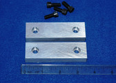 3-1/2 x 1.0 x 5/8 Aluminum Wilton Vise Jaws:  Fits the Wilton #350 and the 101160 vises