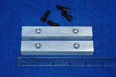 4-1/2 x 3/4 x 1/2 Aluminum Wilton Vise Jaws: Fits the Wilton Cadet
