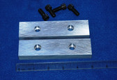 5 x 1-1/4 x 5/8 Aluminum Wilton Vise Jaws:  Fits the Post 1974 #500S and 500N Wilton Vises