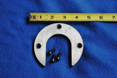 "Horseshoe Washer 3-7/8 Diameter x 1/4.  Fits the #800 (8"" Vise)"
