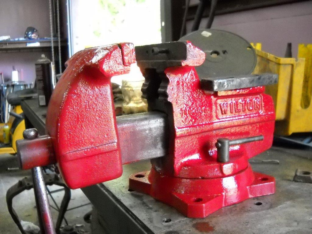 Wilton Vise Parts >> 6 X 1 0 Smooth Wilton Vise Jaws Fits The 112001 And 646 Wilton