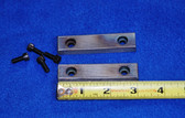 3 x 3/4 x 1/2 Straight Serrated Wilton Vise Jaws:  Fits the early and later vises