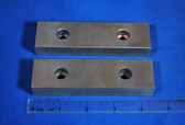 4-1/2 x 1-1/4 x 5/8 Smooth Wilton Vise Jaws:  Fits the Post 1974 Wilton #450S Vises