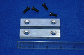 3 x 5/8 x 7/16 Aluminum Wilton Vise Jaws:  Fits the Wilton #930 Vise