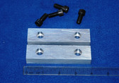 4 x 1.0 x 5/8 Aluminum Wilton Vise Jaws:  Fits the Wilton 101028 Vises