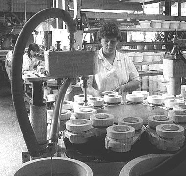 bone china production