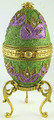 Carnival - Music Box | Faberge Style Egg