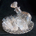 Tipsy Vodka Set | Russian Crystal / Glass