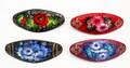 Floral Barrette - Assorted | Zhostovo